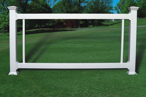 Standard Vinyl Railing Kit W 42 Quot Acrylic Glass Panel Us