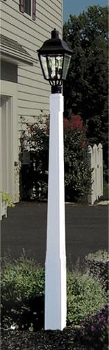 Fairway 6in Tapered Lamp Post 6in Vinyl Lamp Posts Vinyl