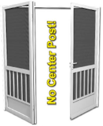 PCA Products A-500 Aluminum Screen Door | US Building Products