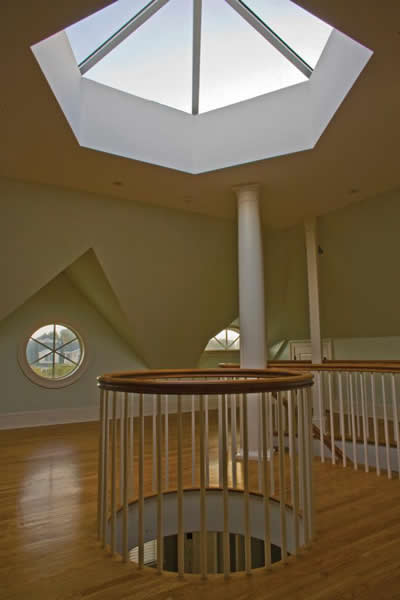 Wasco opy 6060 octagonal pyramid skylight us building for Architectural skylights