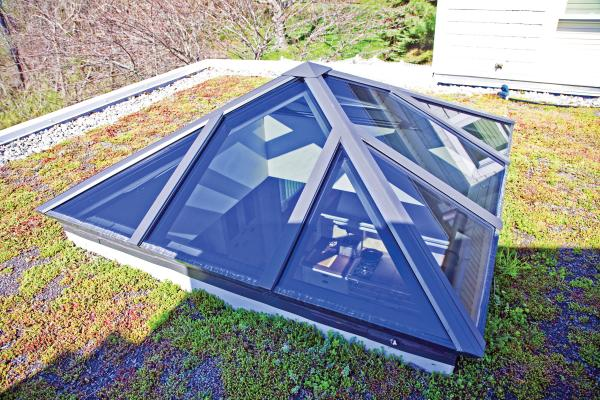Wasco Spy 7272 Square Pyramid Skylight Us Building Products