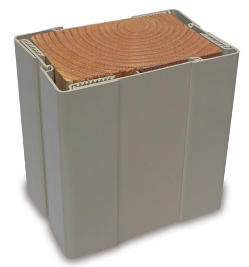 Fairway 10in Vinyl Adjustable Post Wrap 10in Vinyl Post
