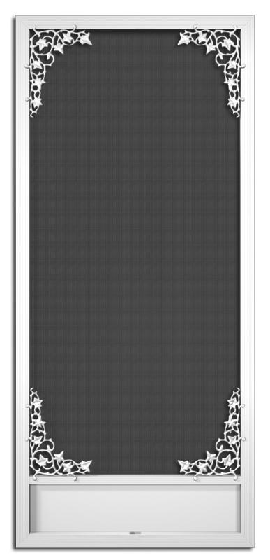 St. Michaels Screen Door - A-140+32x80+KP-8- & PCA Products A-140 Aluminum Screen Door | US Building Products