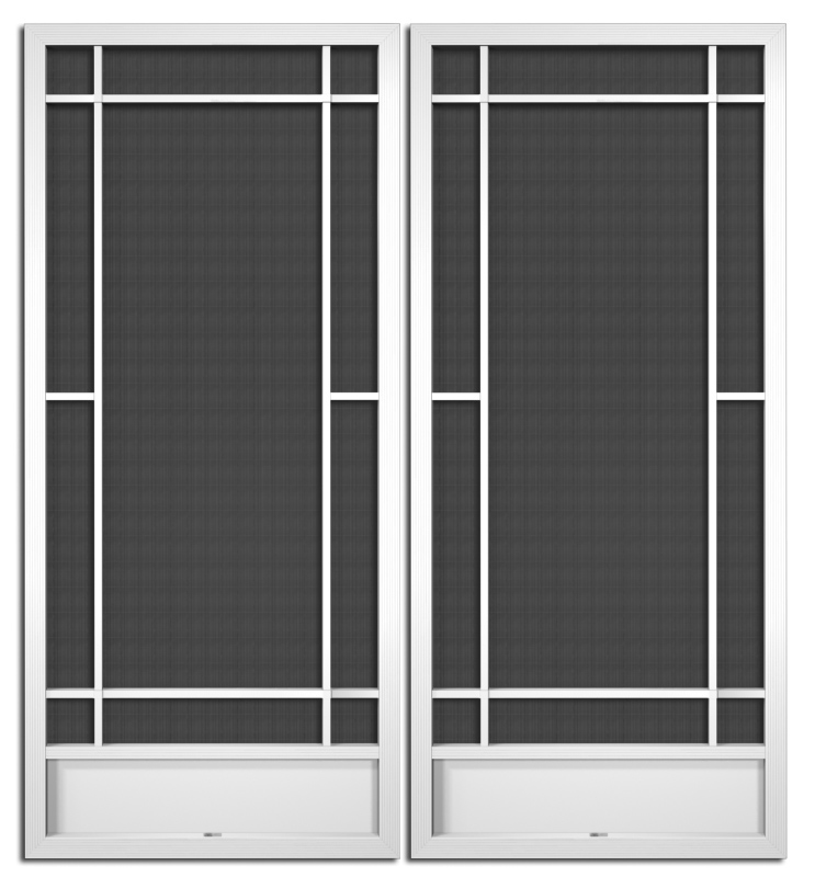Pca products aluminum screen doors page 3 for 1500 french doors